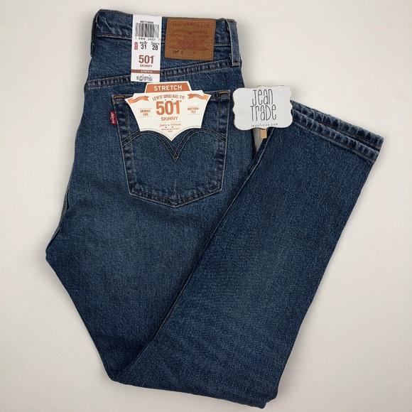 Levi's Denim - LEvi's 501 Skinny Leg Jeans RARE